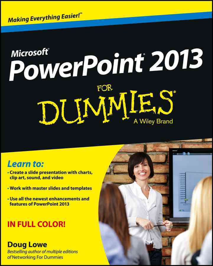 PowerPoint 2013 for Dummies By Lowe, Doug